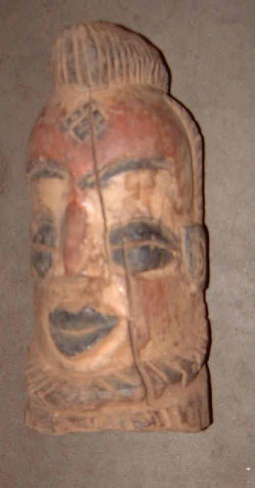 #137 - Chief's head.