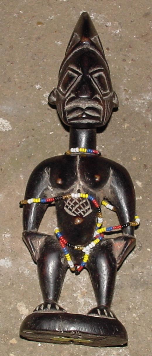 #225 - Ebeji Female Figure, Nigeria.