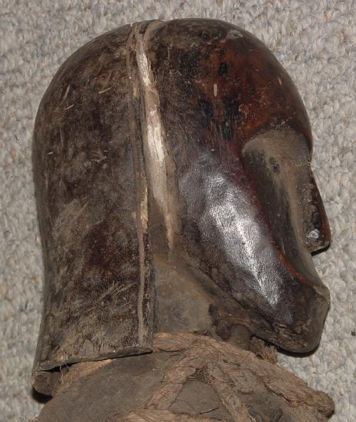 #251 - Fang reliquary head, Fang, Cameroon and Gabon.