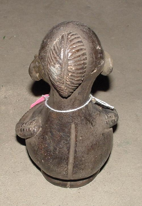 #332  - Female Clay Figure, Cameroon.