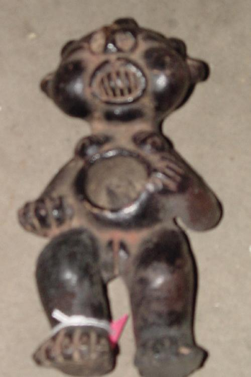 #336 - Clay Female Figure, Cameroon.