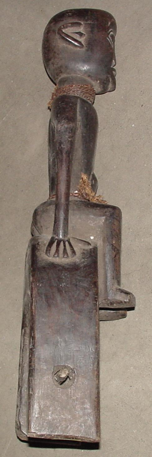 Heddle with Male Figure, Cameroon.