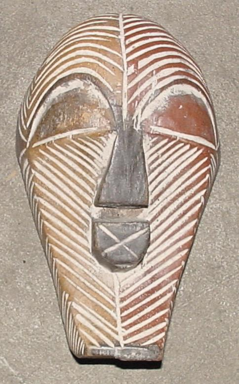 #420 - Small Mask, Songye, Congo.