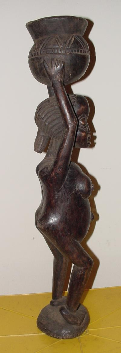 #4 Female with Calabash, Tikar, Cameroon.