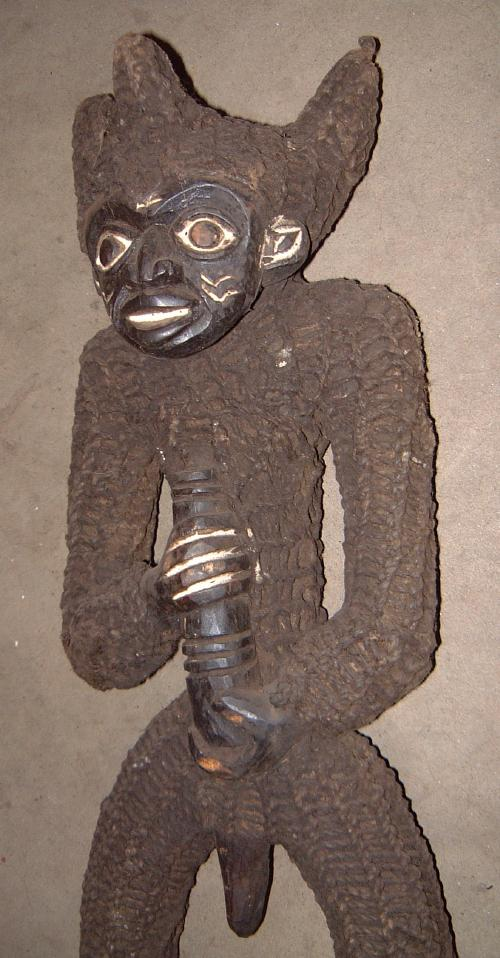 #71 - Chief's stool, Bamileke, Cameroon.