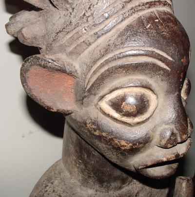 #73 - Chief with Vessel, Bangwa, Cameroon.